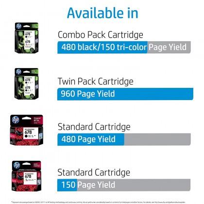 HP 678 Black / Tri-Colour Original Ink Advantage Cartridge