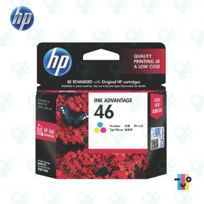 HP 46 Original Black / Colour Ink Advantage Cartridge