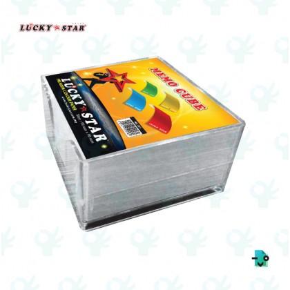 Lucky Star Memo Cube 90MM X 450'S