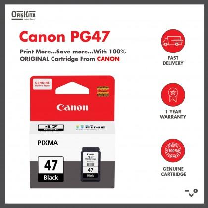 Canon PG47 Black/CL-57 Colour/CL-57S Colour Original Ink Cartridge
