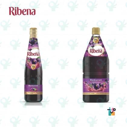 Ribena Blackcurrant Fruit Cordial Drink 1L/2L