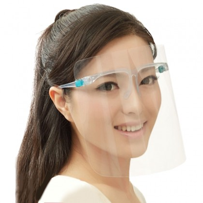Transparent Face Shield Anti-Virus Full Face & Eye Protection / Anti-Saliva Extra 1PCS/PACK