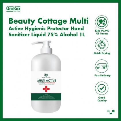 Beauty Cottage Multi Active Hygienic Protector Hand Sanitizer Liquid 75% Alcohol 1L